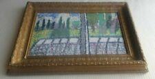 Oil Houses Framed Art Paintings