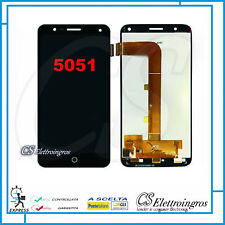 "LCD DISPLAY + TOUCH SCREEN nero ALCATEL ONE TOUCH POP 4 OT5051X OT 5051 4G 5,0"""