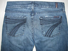 7 Seven For All Mankind Dojo Boot Cut 25 X 25 1/2 Women's Jeans Capri