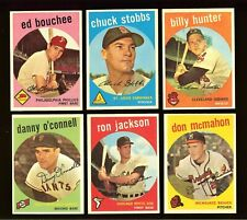 1959 Topps Baseball: Choose Your Card #005 to #384  ***UPDATED 09/01/2021***