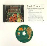 EXCELLENT - Star Wars Dark Forces - LucasArts 1994 Windows PC Computer Game
