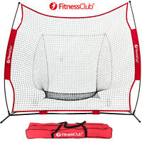 Baseball Weighted Training Balls Aid Net Softball Hitting Batting Practice W/Bag