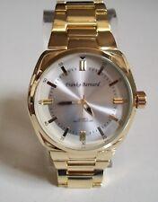 Designer inspired style bracelet Gold finish Oversized Heavy fashion men's watch