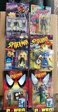 New ListingLot of 6 Toybiz Marvel Spider-Man Figurines Mib Moc