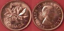 Proof Like 1956 Canada 1 Cent From Mint's Set