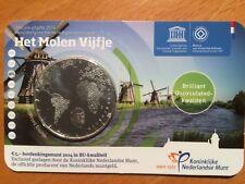 BU Coincard Nederland van 5 euro  De Molen uit 2014