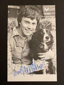 Frazer Hines Signed Photo - Dr Who & Emmerdale