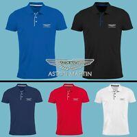 Chemise Polo T Shirt BRODÉ Logo Auto Homme Manches Courtes Ajusté Entraine Toi