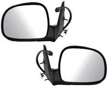 Sonoma Jimmy Envoy Bravada S10 Blazer Left&Right Power Heat Side Mirror Pair L+R