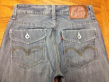 LEVIS 514 SLIM STRAIGHT MEN'S JEANS XOD HAND MEASURED SIZE 30 x 30 EUC BEST V57