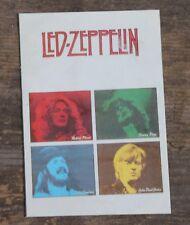 "Vintage Led Zeppelin Rock Band Sticker 2 3/4"" x 5"" +"