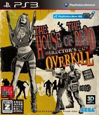 PS3 The House of the Dead: Overkill Director's Cut PlayStation 3 Japan F/S