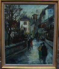 """Paul Kastrup 1920-1987, """"Montmartre"""", um 1950/60"""