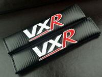 2x VXR Carbon Fiber Effect Seat Belt Shoulder Pads For Zafira Corsa GTC Astra