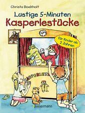 Christa Boekholt Lustige 5-Minuten-Kasperlestücke