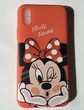 cover case carcasa coque funda iphone X XS Minnie Mouse tok capa Housse Hulle