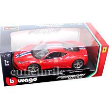 Bburago Ferrari 458 Speciale 1:18 Diecast Model Car Red 18-16002