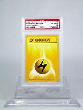 PSA 10 GEM MINT SHADOWLESS Lightning Energy Pokemon Base Set #97/102