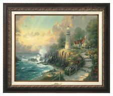 Thomas Kinkade - Light of Peace – Canvas Classic (Aged Bronze Frame)