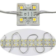 20pcs 4 LED Warm White 5050 SMD Module Waterproof Light Lamp Strip DC 12V