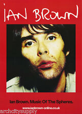 POSTER-MUSIC- IAN BROWN - MALE SINGER - FREE SHIPPING !  #PP0332 LBW1 E