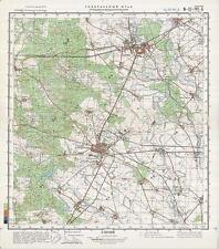 Russian Soviet Military Topographic Maps-GRODZISK WIELKOPOLSKI (Poland), ed.1981
