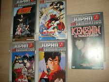 JE VENDS 5 LIVRET DVD JAPON ANIMATION J'AI CAPOLAVORI DE L'´ANIMATION JAPONAIS