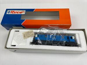 Roco Spur H0 43951 AC Schweiz E-Lok Fe 4/4 blau der SBB in OVP