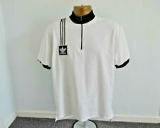 VINTAGE ADIDAS CYCLING JERSEY MENS SIZE L