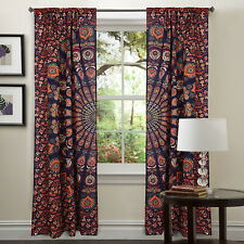 Indian Mandala Decorate Door Window Curtain Set Wall Panel Valances Curtains New