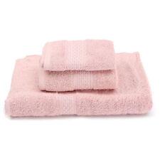 Serviettes, draps et gants de salle de bain rose pour salle de bain 70x140 cm