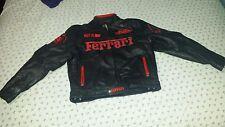 Ferrari Racing Leather Jacket SZ 2XL  Michael Schumacher 7 TM F1 WORLD CHAMPION