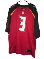 AUTHENTIC NIKE NFL TAMPA BAY BUCCANEERS JAMEIS WINSTON JERSEY HOME SIZE MEN XL