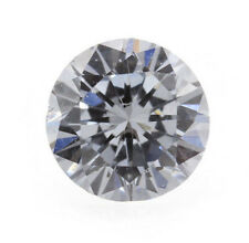 0.12 Carat Fancy Blue Loose Diamond Natural Color Round Shape Certified