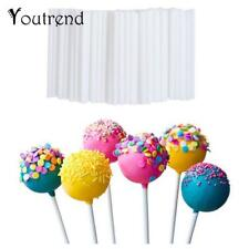 Lollipop Sticks Plastic Pop Suckers Cake Candy Sticks 100 pcs 10 cm