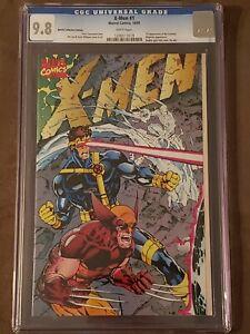 Marvel X-men #1 Jim Lee Gatefold Cover Signed Stan Lee w//COA Wolverine Cyclops
