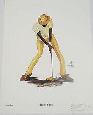 African American Art Annie Lee Sports Print Tee Off Time/Golf/Liquidation Sale