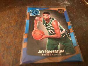 Jason Tatum rated rookie card donruss
