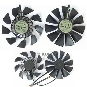 For ASUS STRIX GTX780 780TI GTX970 980 R9 280x 290X graphics card fan T129215SU