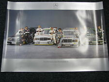 Poster Mercedes-Benz DTM 1992 all teams and drivers (JS)