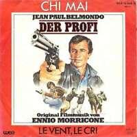 """Ennio Morricone Der Profi 7"""" Single Vinyl Schallplatte 15766"""
