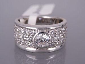 Damen Ring von DIAMONFIRE in 925 Sterlingsilber mit Zirkonia Besatz Neu
