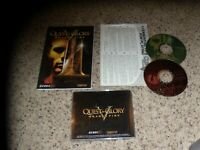 Quest for Glory V Dragon Fire (PC, 1998) game with manual