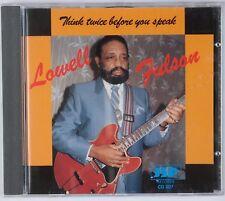 LOWELL FULSON: Think Twice Before You Speak JSP Blues CD Rare