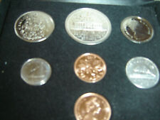 1973 Canada Double Penny Mint Set  (UNC. 7 Coins Cent to Dollar RJ)