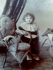 Victorian Cabinet Card Photograph by George Organ Hammersmith