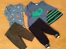 Carter's And Starting Out Infant Boy's Clothing Lot of 5 Size Newborn