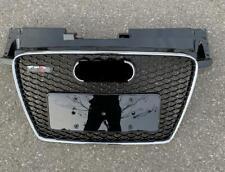 For AUDI TT 8J 2008-2014 TTRS style front black bumper Honeycomb Mesh Grill