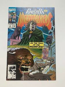 Nightstalkers #5 - Punisher Appearance (Marvel Comics, 1993) VF/NM