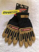 Redwing, Ironclad Ranchworx Impact Gloves. Washable Leather. Sz XL